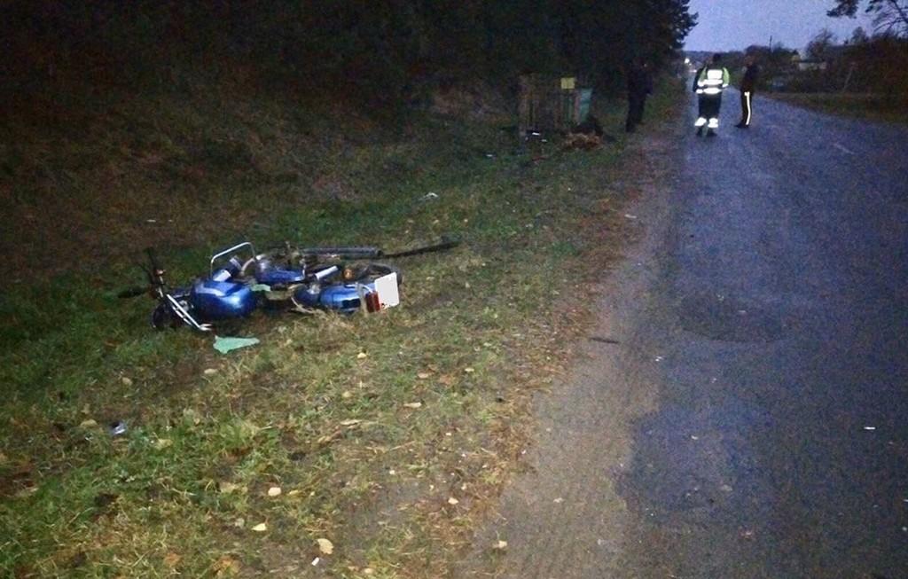 В Лиозненском районе пострадал мотоциклист