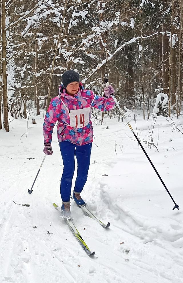 На лыжне – Ольга Пинчук