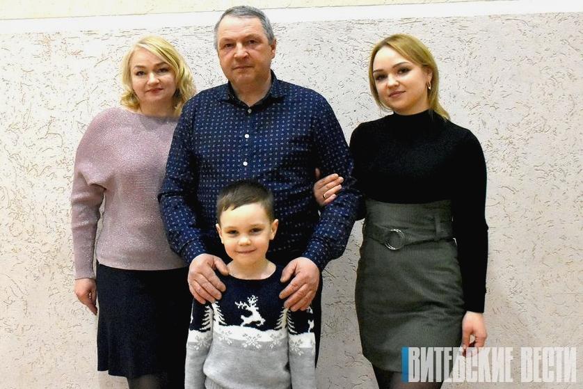 Талантливая семья Ульяновых из Лиозно