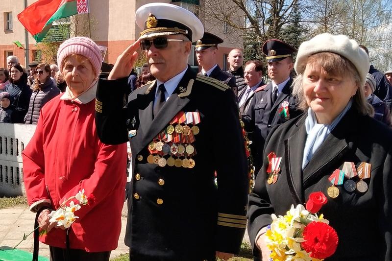 День Победы на территории Лиозно и района