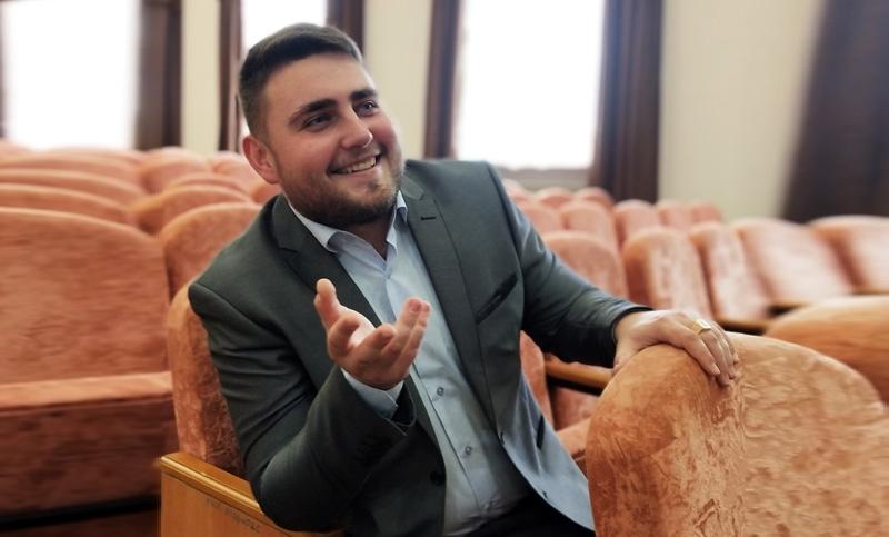 Марк Цыганков, руководитель Лиозненского народного театра «У пошуку…»